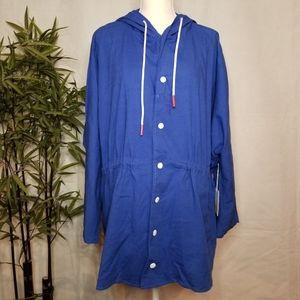 Katie Sturino x Stitch Fix Cargo Jacket, Size M